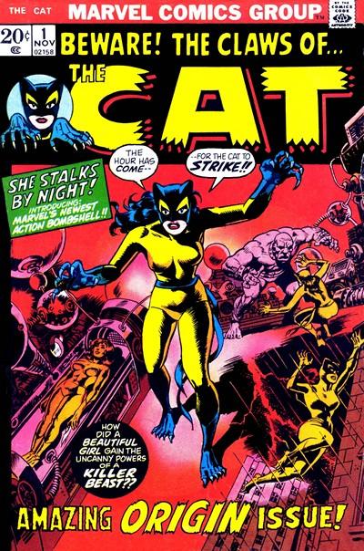 The Cat #1 – 4 (1972-1973)