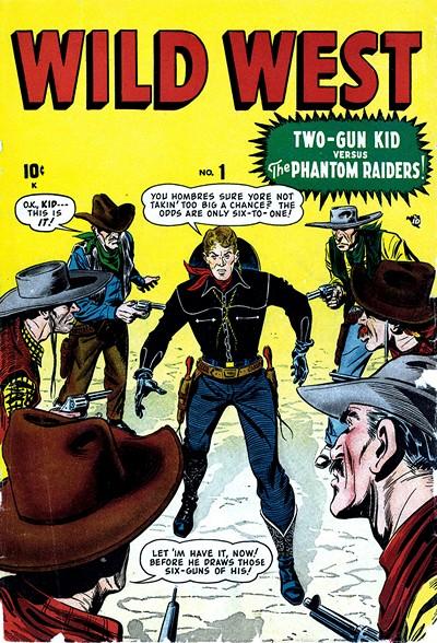 Wild West Vol. 1 #1 – 2 (1948)