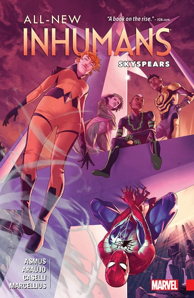 All-New Inhumans Vol. 2 – Skyspears (2016)