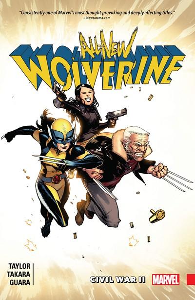 All-New Wolverine Vol. 2 – Civil War II (2016)