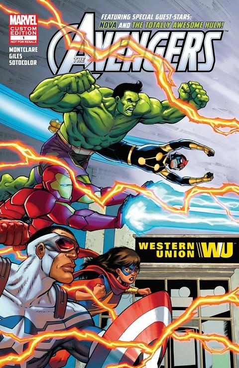 Avengers Ft. Hulk & Nova – Presented by Western Union #1 (2016)