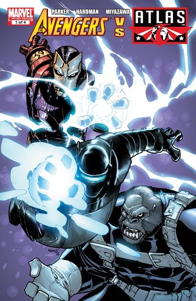 Avengers vs. Atlas #1 – 4 (2010)