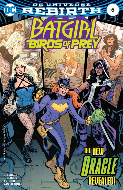Batgirl and the Birds of Prey #5 (2017)