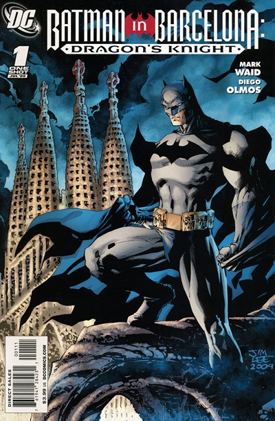 Batman in Barcelona Dragon's Knight (2009)