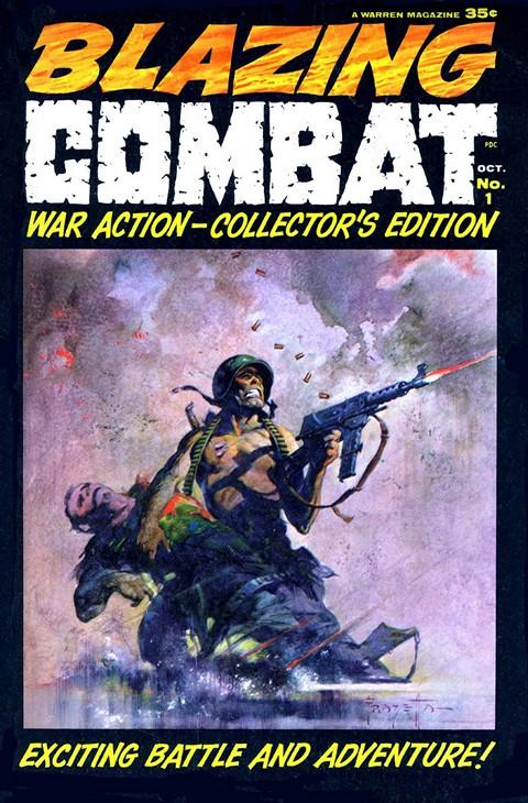 Blazing Combat #1 – 4 (1965)