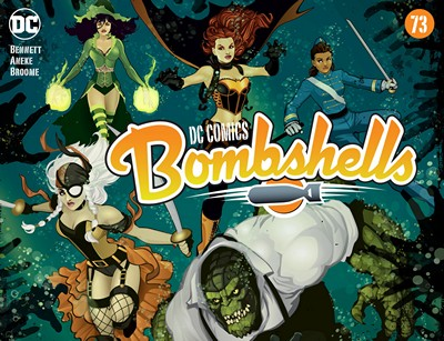 DC Comics – Bombshells #73 (2016)