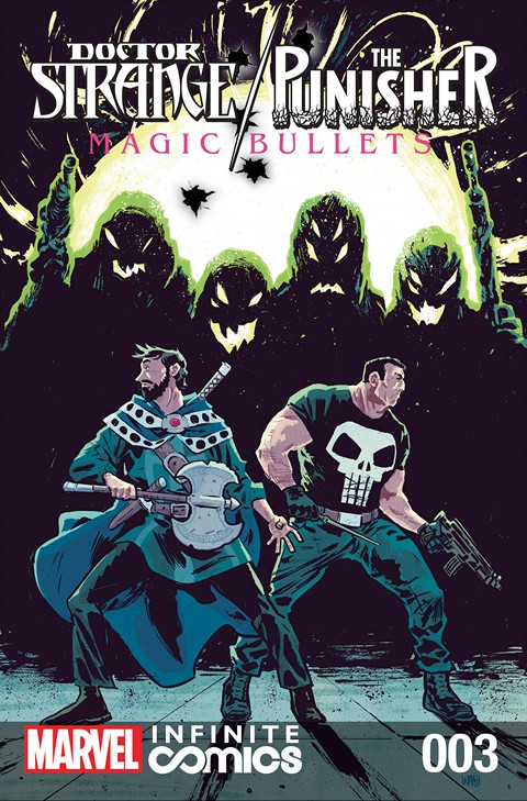 Doctor Strange – The Punisher – Magic Bullets Infinite Comic #3 (2016)