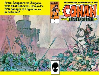 Handbook of the Conan Universe Vol. 1 #1 (1986)
