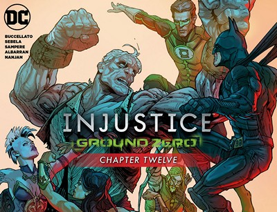 Injustice – Ground Zero #12 (2016)
