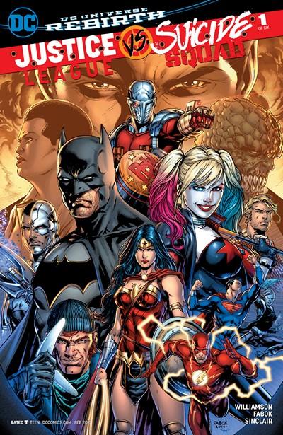 Justice League vs. Suicide Squad #1 – 6 + TPB (2017)