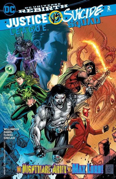 Justice League vs. Suicide Squad #2 (2016)