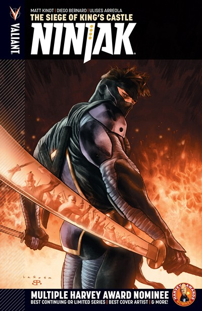 Ninjak Vol. 4 – The Siege of King's Castle (2016)