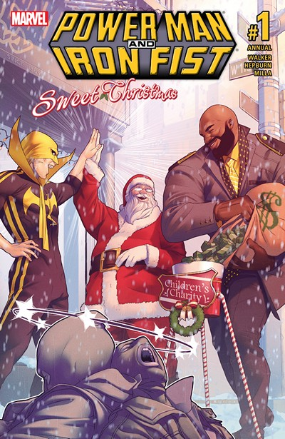 Power Man and Iron Fist – Sweet Christmas Annual #1 (2016)