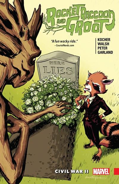 Rocket Raccoon and Groot Vol. 2 – Civil War II (TPB) (2016)