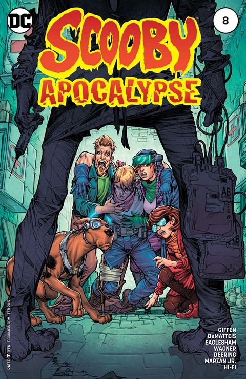 Scooby Apocalypse #8 (2016)