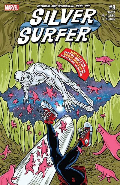 Silver Surfer #8 (2016)