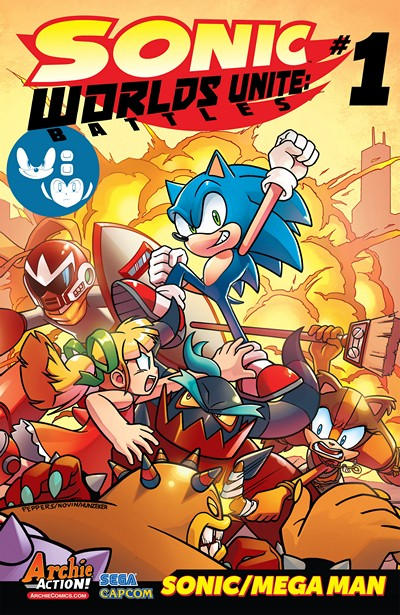 Sonic the Hedgehog – Worlds Unite Battles #1 (2015)