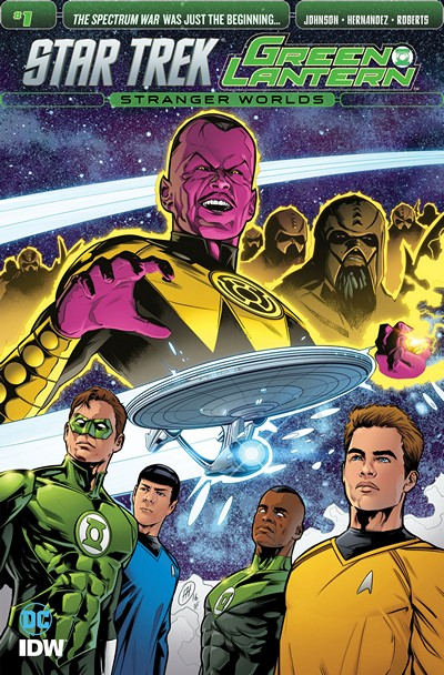 Star Trek – Green Lantern Vol. 2 #1 (2016)