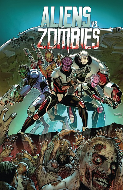 Aliens vs. Zombies #1 – 5 + TPB Vol. 1 (2015-2016)