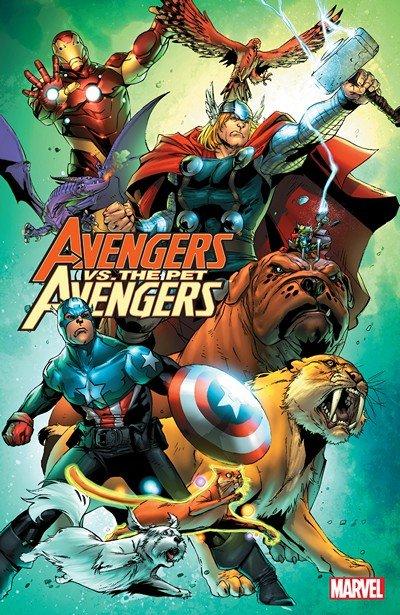 Avengers vs. Pet Avengers (TPB) (2016)