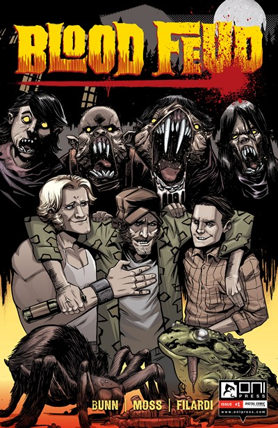 Blood Feud #1 – 5 + TPB (2015-2016)