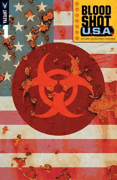 Bloodshot Vol. 5 – U.S.A. #1 – 4 + TPB (2016-2017)