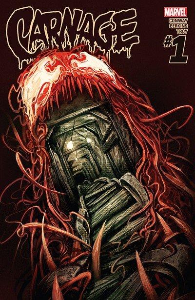 Carnage #1 – 15 + TPB Vol. 1 – 2 (2016-2017)