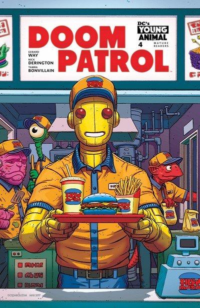 Doom Patrol #4 (2017)