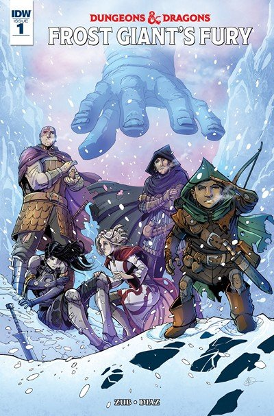Dungeons & Dragons – Frost Giant's Fury #1 (2017)