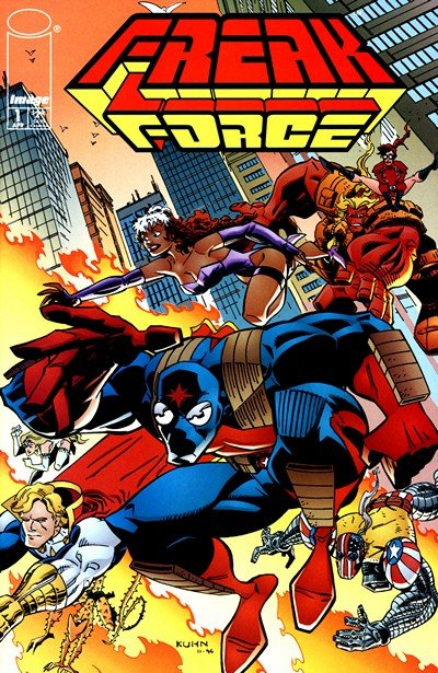 Freak Force Vol. 1 – 2 (Collection) (1993-1997)