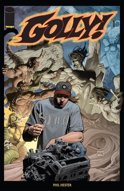 Golly! #1 – 5 (2008-2010)