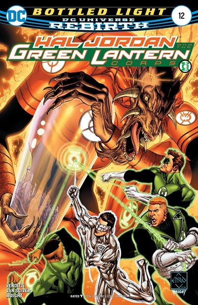 Hal Jordan and the Green Lantern Corps #12 (2017)