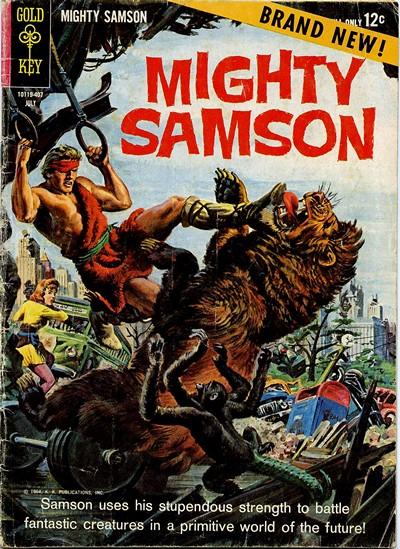 Mighty Samson #1 – 32 (1964-1982)