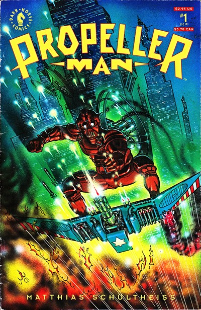 Propeller Man #1 – 8 (1993-1994)