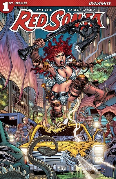 Red Sonja Vol. 4 #1 (2017)