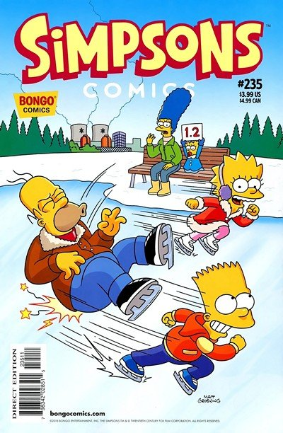 Simpsons Comics #231 – 235 (2016)