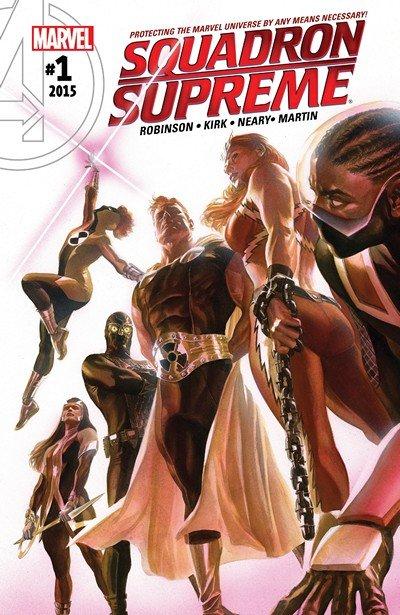 Squadron Supreme Vol. 4 #1 – 15 + TPBs (2016-2017)