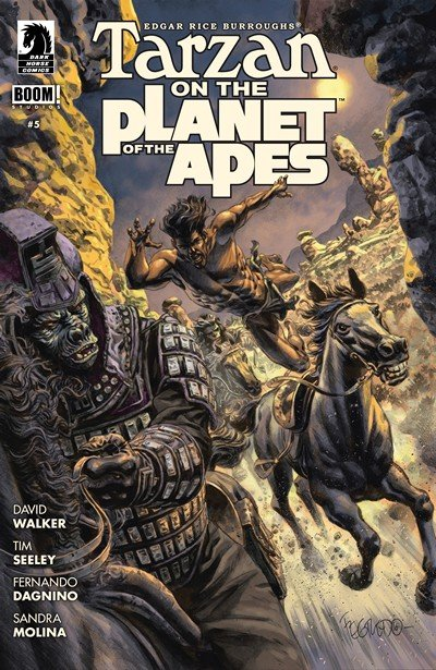 Tarzan on the Planet of the Apes #5 (2017)