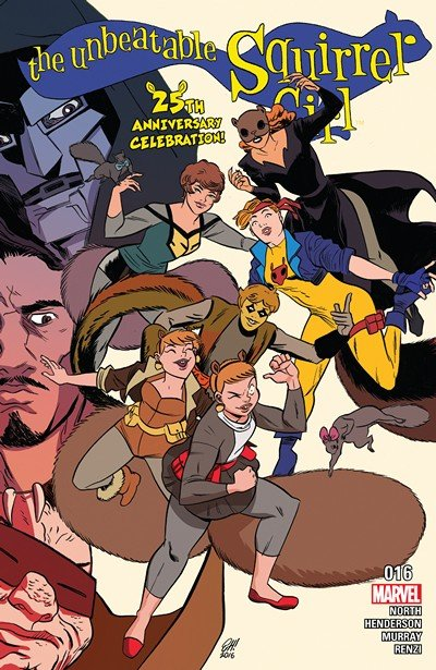 The Unbeatable Squirrel Girl #16 (2017)