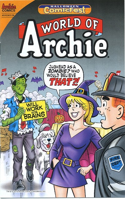 World of Archie #1 (Halloween ComicFest 2015)