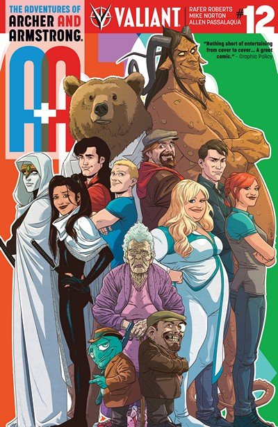A&A – The Adventures of Archer & Armstrong #12 (2017)