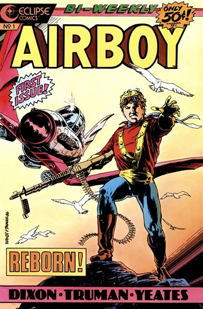 Airboy #1 – 50 (Eclipse) (1986-1989)