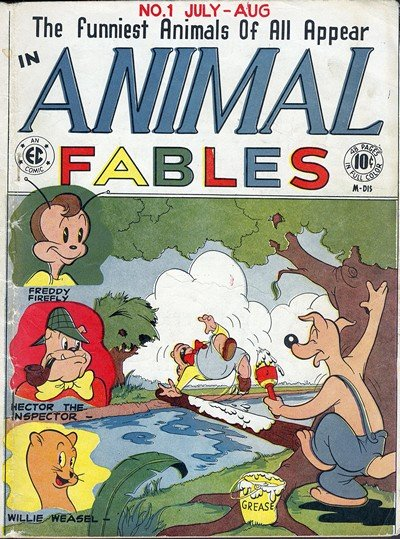 Animal Fables #1 – 7 (1977)
