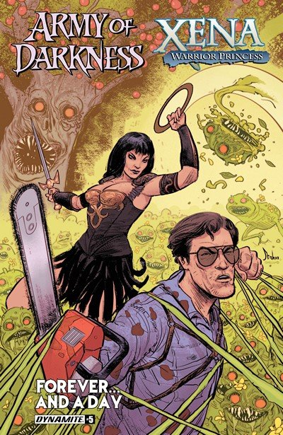Army Of Darkness Xena Warrior Princess Forever…And A Day #5 (2017)