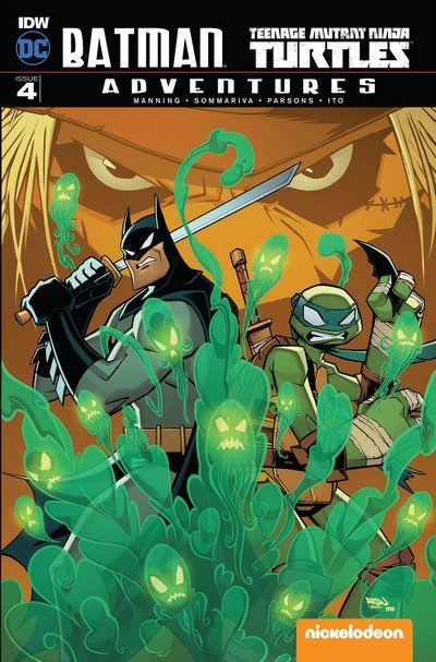 Batman – Teenage Mutant Ninja Turtles Adventures #4 (2017)