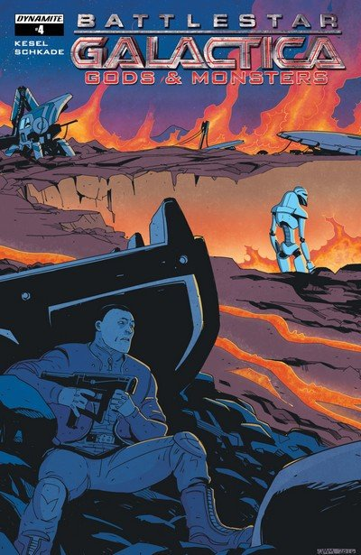 Battlestar Galactica – Gods and Monsters #4 (2017)