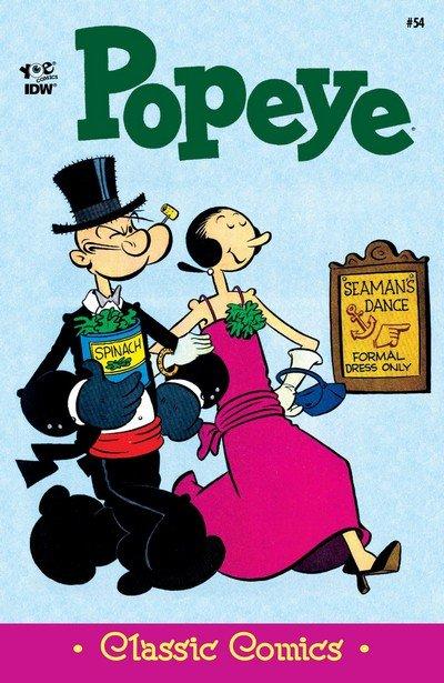 Classic Popeye #54 (2017)