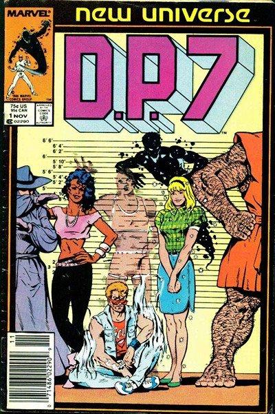 D.P. 7 #1 – 32 + Annual (1986-1989)