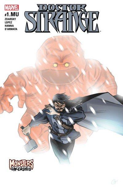 Doctor Strange #1.MU (2017)