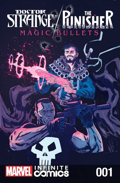 Doctor Strange – The Punisher – Magic Bullets Infinite Comic #1 – 8 (2016-2017)